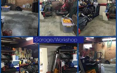 Garage Clean up– Workshop